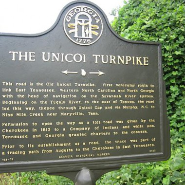 Historic Unicoi Turnpike Trail