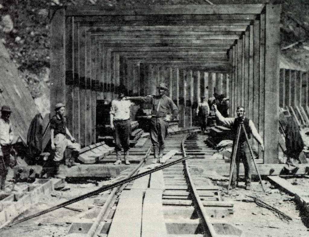 Ocoee Flume workers