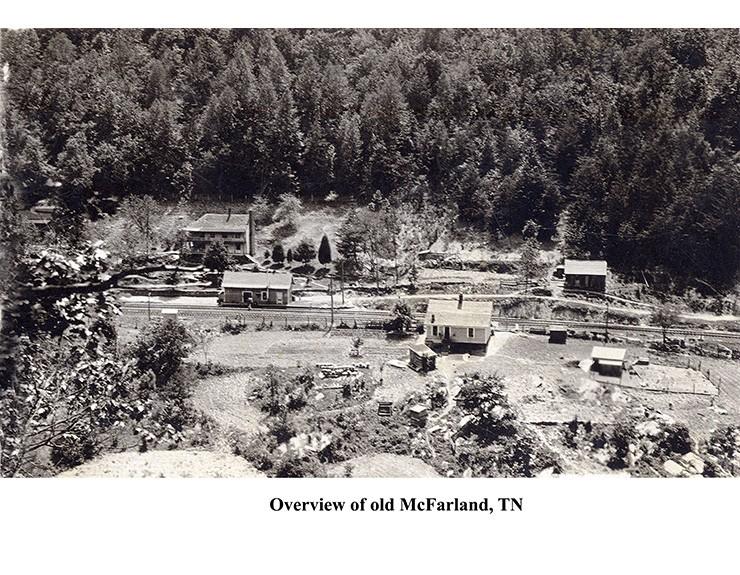 Railroad - Vintage McFarland, TN